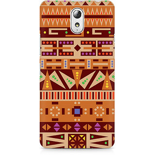 CopyCatz Tribal Pizza Premium Printed Case For Lenovo Vibe P1M