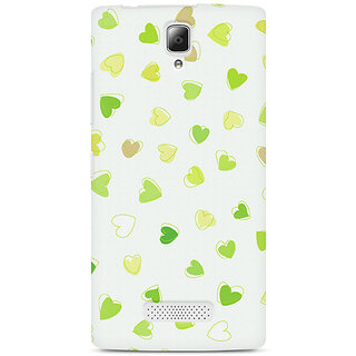 CopyCatz Watercolor Hearts Premium Printed Case For Lenovo A2010