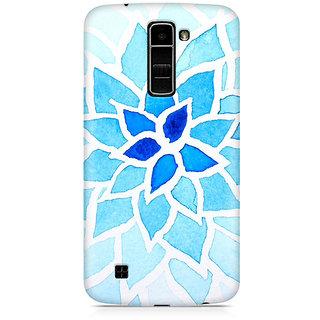 CopyCatz Lotus Blue Premium Printed Case For LG K7