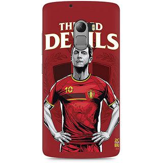 CopyCatz The Red Devils Premium Printed Case For Lenovo K4 Note