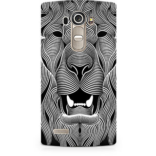CopyCatz Wavy Lion Premium Printed Case For LG G4