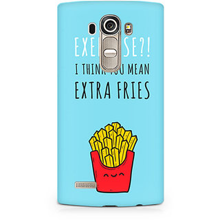 CopyCatz Extra fries Premium Printed Case For LG G4