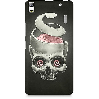 CopyCatz Open Your Brain Premium Printed Case For Lenovo A7000