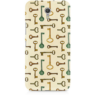 CopyCatz Skeleton Key Premium Printed Case For Lenovo Zuk Z1