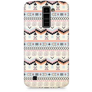 CopyCatz Tribal Chic07 Premium Printed Case For LG K7