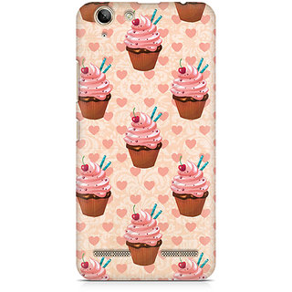 CopyCatz Stawberry Cupcakes Premium Printed Case For Lenovo K5 Plus