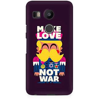 CopyCatz Make Love Not War Premium Printed Case For LG Nexus 5X