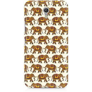 CopyCatz Enchanting India Elephant Artwork Premium Printed Case For Lenovo Zuk Z1