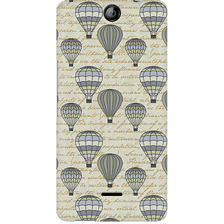CopyCatz Balloon Scripture Premium Printed Case For Micromax Canvas Juice 3 Q392