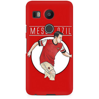 CopyCatz Mesut Ozil Premium Printed Case For LG Nexus 5X