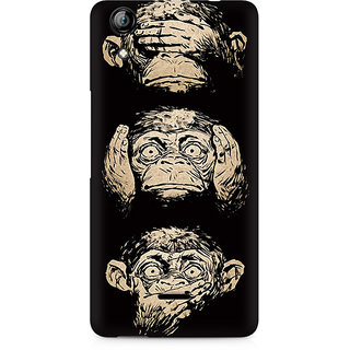 CopyCatz Three Wise Monkeys Premium Printed Case For Micromax Canvas Selfie 2 Q340
