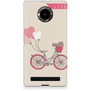 CopyCatz Bicycle Love Premium Printed Case For Micromax YU Yuphoria