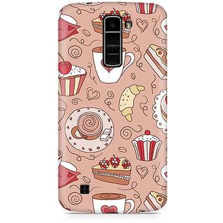 CopyCatz Cute Cakes Premium Printed Case For LG K10