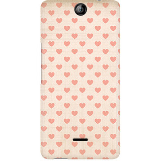 CopyCatz Vintage Heart Premium Printed Case For Micromax Canvas Juice 3 Q392