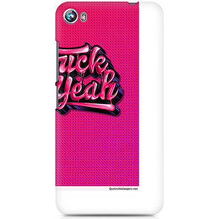 CopyCatz Fuck Yeah Premium Printed Case For Micromax Canvas Fire 4 A107