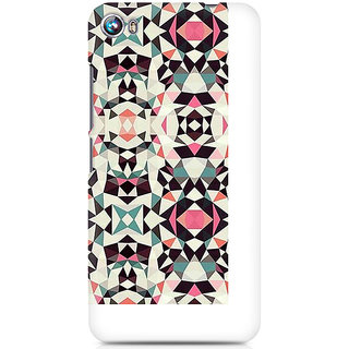 CopyCatz Fusion Symmetry Premium Printed Case For Micromax Canvas Fire 4 A107