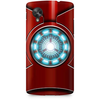 CopyCatz Iron Man's Heart Premium Printed Case For LG Nexus 5