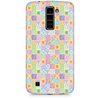 CopyCatz Abtract Heart Fusion Premium Printed Case For LG K10