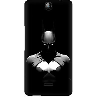 CopyCatz Batman Silhoutte Premium Printed Case For Micromax Canvas Juice 3 Q392