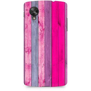 CopyCatz Pink Wood Shade Premium Printed Case For LG Nexus 5