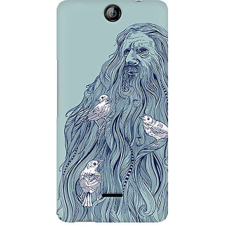 CopyCatz Beards Nest Premium Printed Case For Micromax Canvas Juice 3 Q392