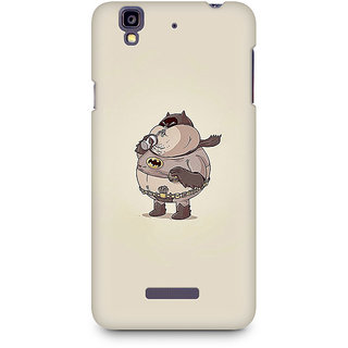 CopyCatz Fat Batman Premium Printed Case For Micromax YU Yureka A05510