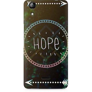 CopyCatz Hope Arrow Premium Printed Case For Micromax Canvas Selfie 2 Q340