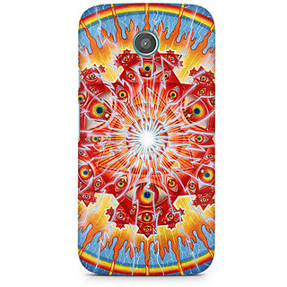 CopyCatz Psychedelic Eyes Premium Printed Case For Moto E