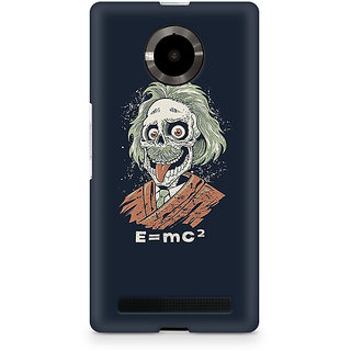 CopyCatz Skully Einstein Premium Printed Case For Micromax YU Yuphoria