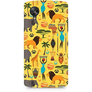 CopyCatz Tribal Africa Premium Printed Case For LG Nexus 5