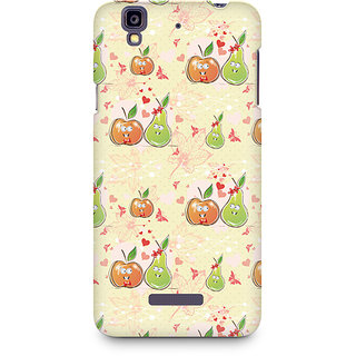 CopyCatz Apple and Pear Premium Printed Case For Micromax YU Yureka A05510