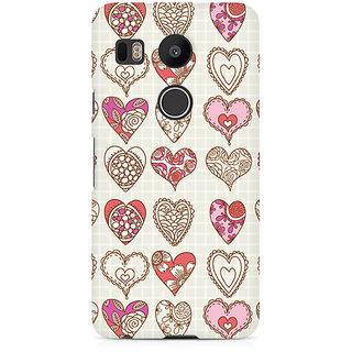 CopyCatz So Many Hearts Premium Printed Case For LG Nexus 5X