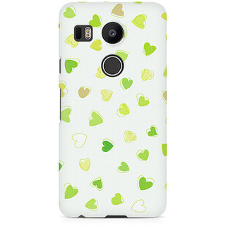 CopyCatz Watercolor Hearts Premium Printed Case For LG Nexus 5X