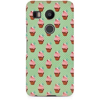 CopyCatz Small Cupcakes Premium Printed Case For LG Nexus 5X