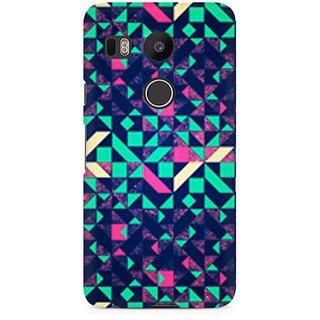 CopyCatz Abstract Wookmark Premium Printed Case For LG Nexus 5X