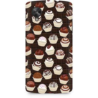 CopyCatz Dark Cupcakes Premium Printed Case For LG Nexus 5