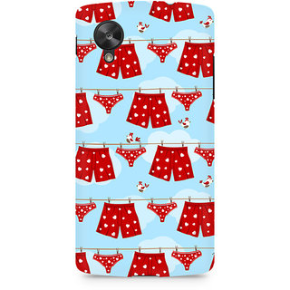 CopyCatz Boxers and Panties Premium Printed Case For LG Nexus 5