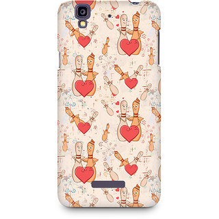 CopyCatz Love Pins Premium Printed Case For Micromax YU Yureka A05510