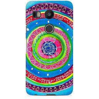 CopyCatz Concentric Circle Doodle Premium Printed Case For LG Nexus 5X
