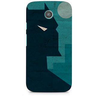 CopyCatz Dark Knight Premium Printed Case For Moto E