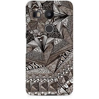 CopyCatz Geometric Abstract Doodle Premium Printed Case For LG Nexus 5X