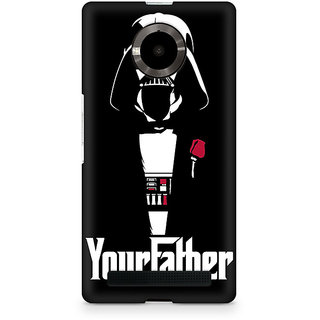 CopyCatz Your Father Premium Printed Case For Micromax YU Yuphoria
