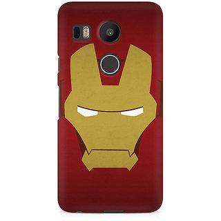 CopyCatz Iron Man Minimalist Premium Printed Case For LG Nexus 5X