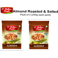 Roasted Almond Pack Of 2 (250 Gm X 2)