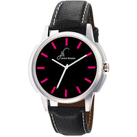 Jack Klein GRP-1217 Synthetic Leather Analog Watch For Men, Women
