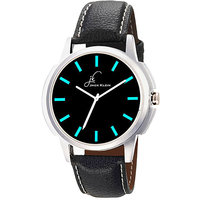 Jack Klein GRP-1219 Synthetic Leather Analog Watch For Men, Women