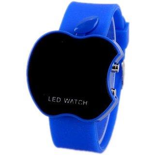 Apple Blue LED Sports Digital Wrist Watch For Boys