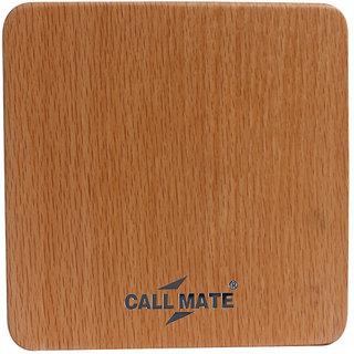 Callmate Power Bank Wooden 807 10400 mAh-Brown