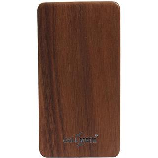 Callmate Power Bank Wooden 802 8000 mAh-Brown