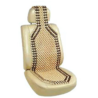 Wooden Beads Acupressure Car Seat for Maruti Baleno